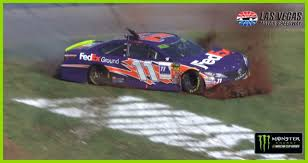 100 Monster Truck Show Miami Big Damage Brings Denny Hamlins Day To An End NASCARcom