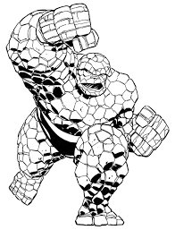 Coloring Book Marvel Super Heroesmarvel Pages