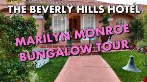 100 Bungalow 5 Nyc THE BEVERLY HILLS HOTELS MARILYN MONROEINSPIRED BUNGALOW