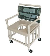 Handicap Toilet Chair With Wheels by Pvc Shower Commode Chairs Shower Commode Chairs