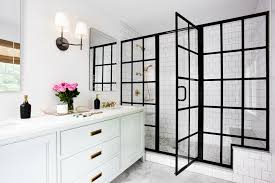 Black Frame Showers – Sophisticated With Modern Industrial Flair