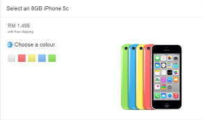 Apple Malaysia Drops Prices of iPhone 5s and 5c Now From RM1499