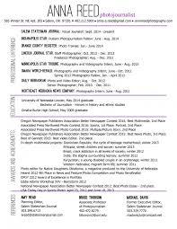 Photographer Resume Best Graphy Pdf Resumes Examples Keywords Wedding Samples