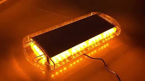 NEW LED Roof 40 LED SOLID Amber Emergency Plow Tow Truck 22