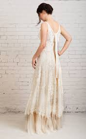 Boho Wedding Dress Casual Simple