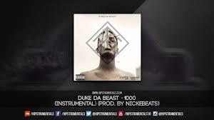 Duke Da Beast 1000 Instrumental Prod By NickEBeats DL via