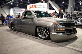 Top 25 Lowered Trucks Of SEMA 2016