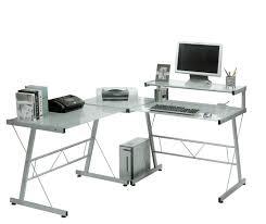 Ebay Corner Computer Desk by Remarkable Glass Computer Desk Corner Glass Desk Ebay U2013 Interiorvues