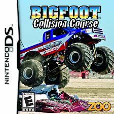 100 Juegos De Monster Truck Bigfoot Collision Course Nintendo DS