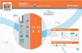 Ky Transportation Cabinet Forms by Brent Spence Bridge Construction To Impact I 75 Traffic Kentucky