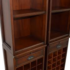 31% OFF - Pottery Barn Pottery Barn Modular Wine Towers / Storage Bar Wonderful Basement Bar Cabinet Ideas Brown Varnished Wood Wine Bottle Rack Pottery Barn This Would Be Perfect In Floating Glass Shelf Rack With Storage Pottery Barn Holman Shelves Rustic Cabinet Bakers Excavangsolutionsnet Systems Bins Metal Canvas Food Wall Mount Kitchen Shelving Corner Bags Boxes And Carriers 115712 Founder S Modular Hutch Narrow Unique Design Riddling