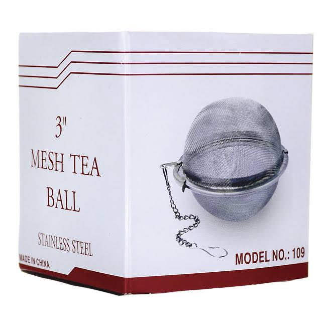 Swedish Traditions Mesh Tea Ball - Large, Stainless Steel