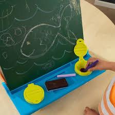 Kidkraft Easel Desk Espresso by Kidkraft Tabletop Easel Espresso With Brights Target