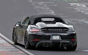 100 Porsche Truck Price New 2018 718 Boxster Spyder Spy Pictures News Specs Prices