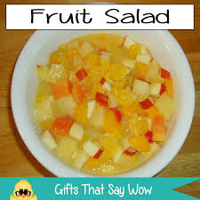 GIFTS THAT SAY WOW Fun Crafts And Gift Ideas Fruit Salad