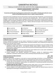 Simply Construction Executive Resume Samples Management Examples Resumes Senior Large Size