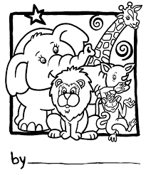 Popular Zoo Coloring Pages Best Design