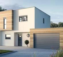 maison en cube moderne plan maison bois kit pas chere maison bois