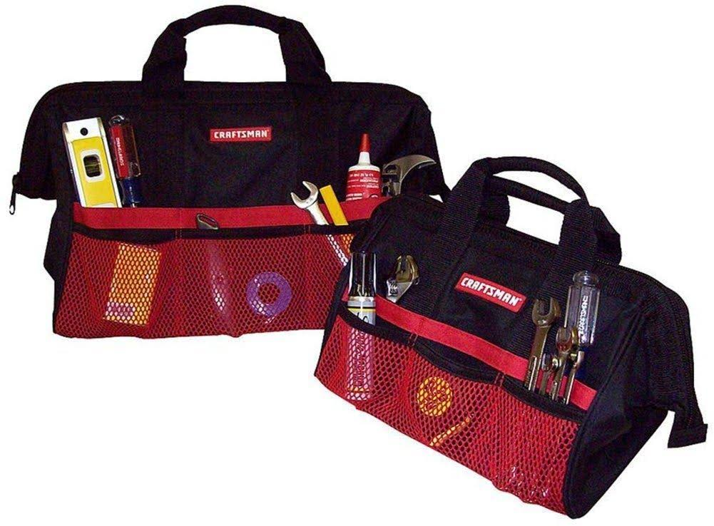 "Craftsman Tool Bag Combo - 13"" and 18"""