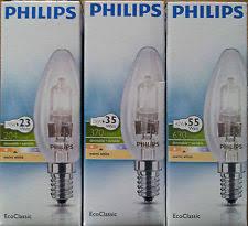 philips halogen light bulbs candle ebay