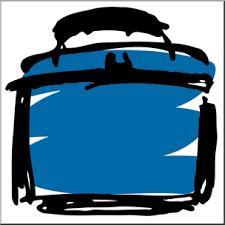 Clip Art I Abcteach Com Abcteachcom Preview Blue Clipart Lunch Box