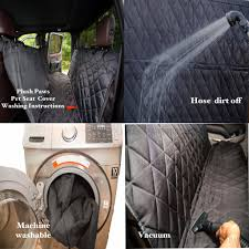 Plush Paws Products® Custom Seat Cover With Detachable Hammock