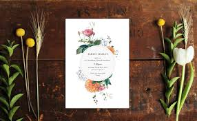 Vintage Botanical Wedding Invitations Floral Stationery Australia Perth Melbourne Adelaide Sydney Rustic Chic Glam Pretty