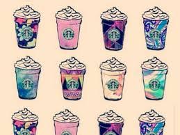 Drawn Starbucks Frappuccino