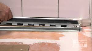 Schluter Tile Trim Uk by Schluter Kerdi Line Grate Assembly U0026 Showerprofile S R System