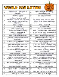 Halloween Trivia Questions And Answers 2015 by Halloween Would You Rather Questions Would You Halloween And