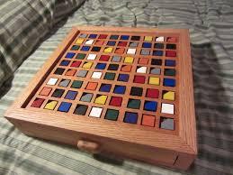 Color Based Wooden Sudoku Board Tutorial