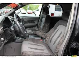 2001 Pontiac Aztek Standard Aztek Model interior