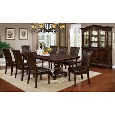 Furniture Of America Shayson Traditional Formal 9-piece Brown Cherry Dining  Set Cherry Wood Ding Table And Chairs Chateau De Ville Formal Room With Leatherette Rowena Cream White Fniture Suitable Add Ding Room Wall Rustic Finish Woptions Coaster Tabitha Double Pedestal Pc Set Seat In Black Style Kincaid Park Group Traditional Kitchen Fancy Elegant Cherry Wood Formal Sets Cityofchelmsrdinfo