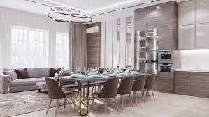 wohnzimmer küche in einer wohnung in prag elite
