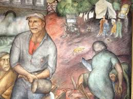 Coit Tower Murals Wpa by For The Depression Era Murals Of Coit Tower Great Recession Era
