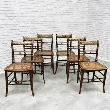 Set Of 6 Antique Painted Dining Chairs How To Transform A Vintage Ding Table With Paint Bluesky Pating My Antique Six Edwardian French Painted Chairs 364060 19th Century Country Set Of 6 Balloon Back Good 1940s Faux Bamboo Eight 1920s Pair Regency 2 Side White Chippy Chair Early 20th Louis Xvi Chairsset 8 Abc Carpet Home Style Fniture And European Buy Cheap Punched Wood Handpainted