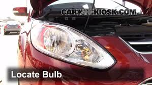 headlight change 2013 2016 ford c max 2013 ford c max hybrid sel