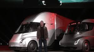 Elon Musk Unveils An Electric Semi-truck - Axios