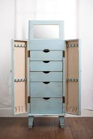 Hives & Honey Blue Cabby Jewelry Armoire | Jewelry Storage ... Powell Jewelry Armoire Replacement Parts Style Guru Fashion 10 Best Armoires Images On Pinterest Armoire 20 Mens Butler Valet Fniture For Bedroom Mirrored Box Organizer Tall Stand Up Cabinet Vintage Glitz Amazoncom Porter Valley Kitchen Ding Design Steveb Interior How To Install Beyond Stores Kids Armoires Bombay