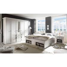 home affaire schlafzimmer set california set 4 tlg gross bett 180 cm 2 nachttische 5 trg kleiderschrank