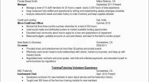 Resume Community Service Example Fresh College Application Examples Awesome Painter