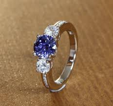 138 best Tanzanite Engagement Rings images on Pinterest