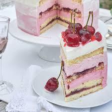 fruchtige joghurt kirsch torte