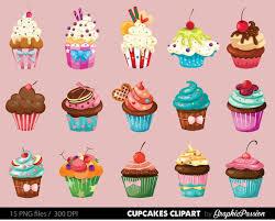 Icing clipart birthday cupcake 3
