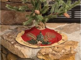 Vintage Putty Christmas Tree Skirt Small By Ragon House