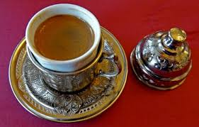 Turkish Coffee In Traditional Cups