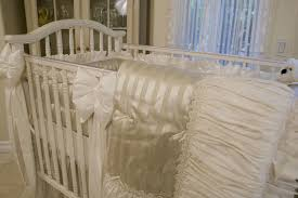 Bratt Decor Crib Skirt by Railcover Starburst In Gold Baby Bedding Jack And Jill Boutique