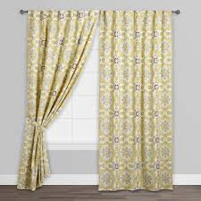 Dkny Mosaic Curtain Panels by Multicolor Mosaic Concealed Tab Top Curtains Set Of 2 World Market