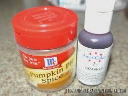 Pumpkin Spice Jello Playdough by Pumpkin Spice Sensory Rice Recipe Fspdt