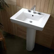 sinks kohler 24 pedestal sink toto cottage powder room veer 24